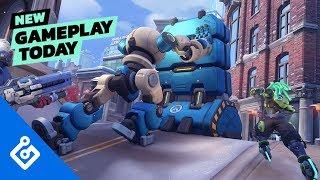 New Gameplay Today – Overwatch's Push Mode