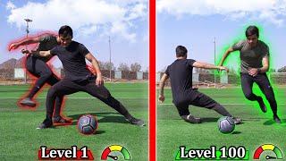 انواع لاعبين كرة القدم من المستوى ١ الى المستوى ١٠٠ | ايش هوه مستواك!؟