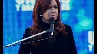 Parte 1 - Discurso de Cristina Fernández en Velez