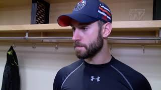 Cam Talbot On Goalie Interference | 2/17/18