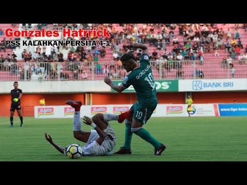 Gonzales Hattrick, PSS Kalahkan Persita 4 1