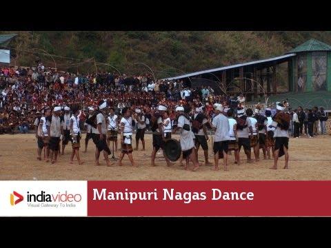 Manipuri Nagas dance at Hornbill festival