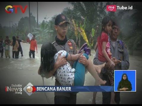 Tak Kuasa Tahan Tangis, Bocah-bocah di Aceh Harus Dievakuasi Karena Bencana Banjir - BIS 07/12