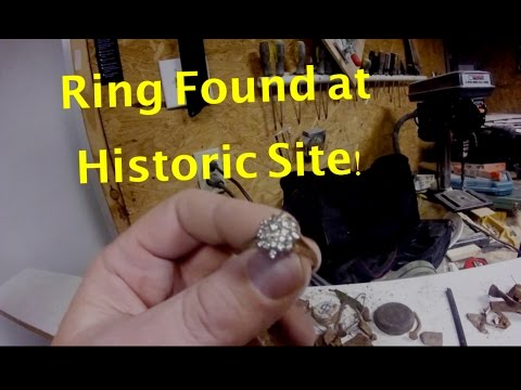 Vintage Ring Found at Historic Nurse Dormitory with Garrett AT Pro
