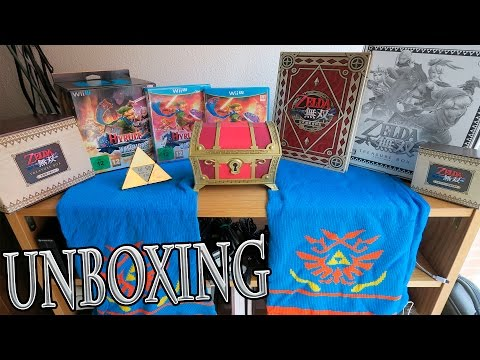 ZELDA TREASURE BOX & HYRULE WARRIORS LIMITED EDITION UNBOXING