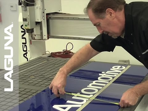 Sign Making With A Router - Plastic - SmartShop® II