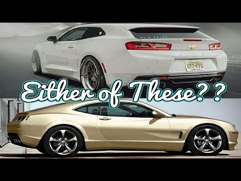 What Is YOUR Perfect 2019 Camaro? - YouTube