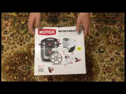 Мультиварка-скороварка ROTEX REPC73-B