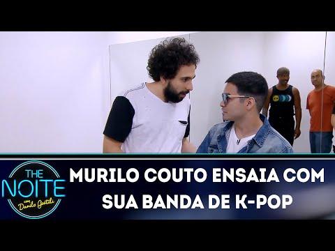 Murilo Couto Ensaia Com Sua Banda De K-POP  | The Noite (19/11/18)