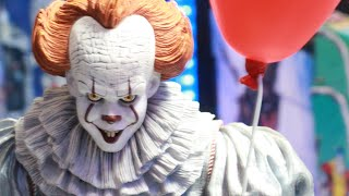 NECA TOYS 1/4 scale IT MOVIE Pennywise the clown review