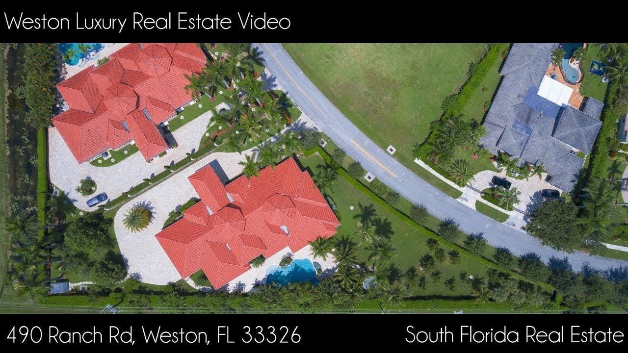 Weston Florida Map.Weston Luxury Real Estate Video 490 Ranch Rd Weston Fl 33326