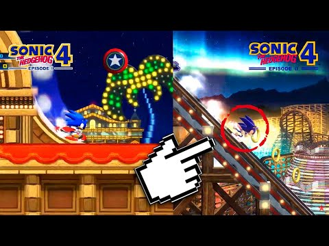 Sonic 4 Ep. 1 VS Sonic 4 Ep. 2 - Какая лучше? | Оправдала ожидания?