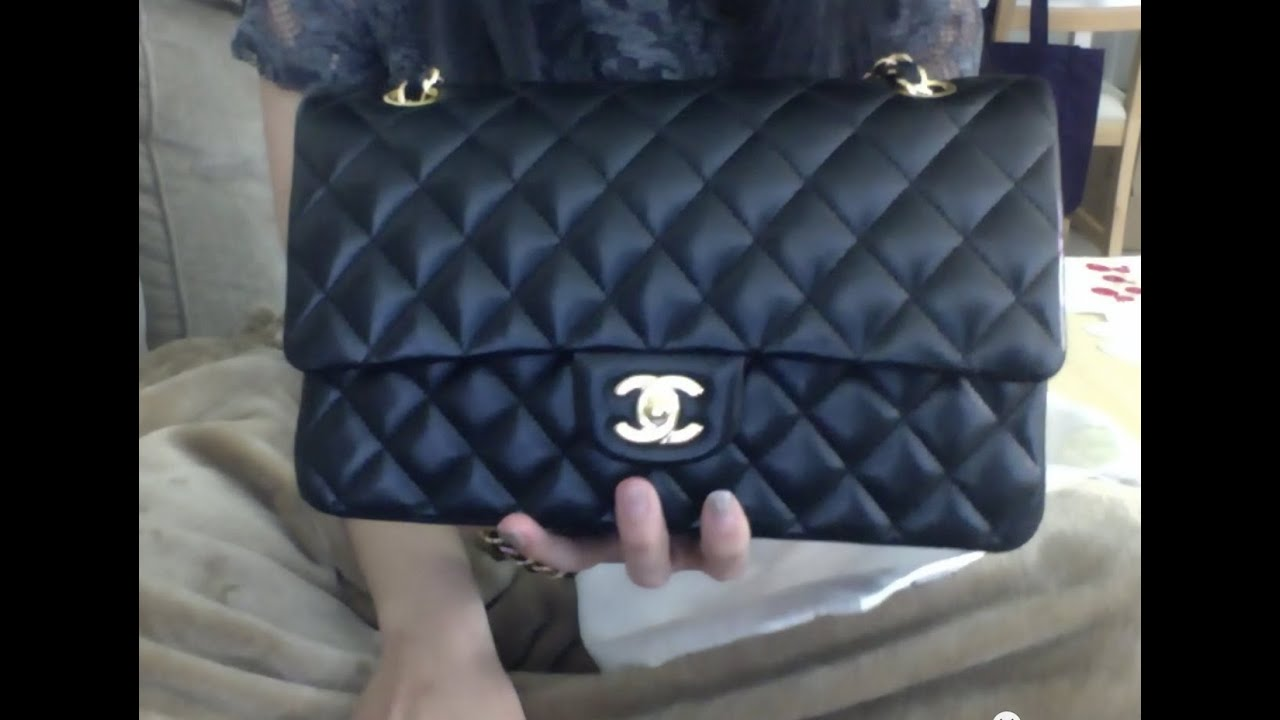 78db517d732d Wear on Chanel Classic Flap Lambskin After 3 Years - YouTube