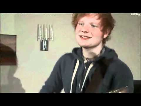 Ed Sheeran - Little Bird Live On UStream
