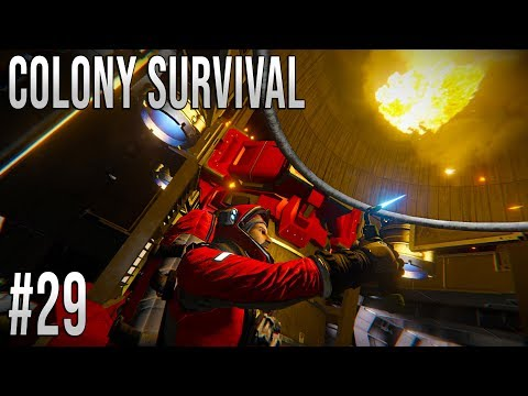 Space Engineers - Colony Survival Ep #29 - ROCKET BUILDING!
