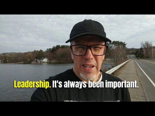 Now More Than Ever, Leadership Matters