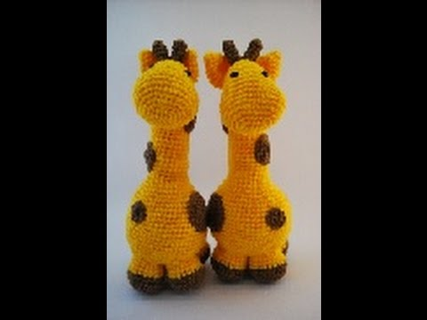 Crochet Giraffe Plushie Youtube