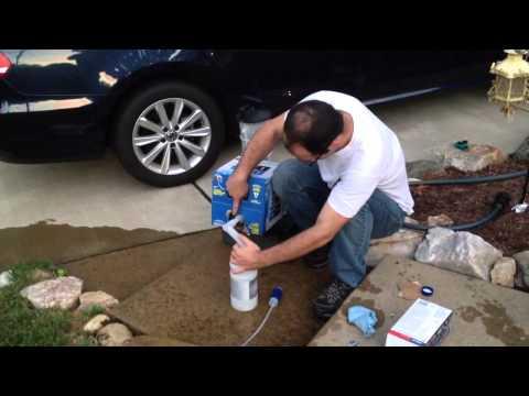 AdBlue Refill (diesel exhaust fluid) - Volkswagen Passat TDI