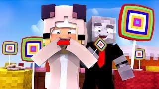 ISY UND LARS FINDEN das SÜßIGKEITENLAND?! - Minecraft [Deutsch/HD]