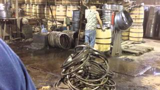 Making Whiskey Barrels