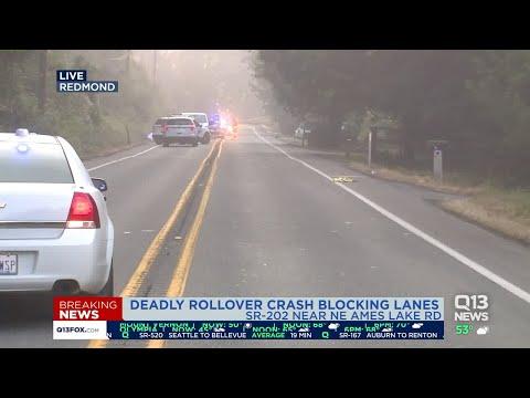 Woman dies, two children hurt in Redmond crash - YouTube