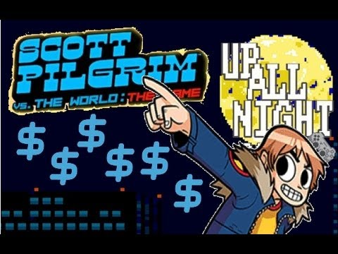 Scott Pilgrim Vs. The World: The Game - Quick Money Glitch!