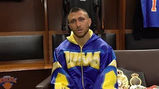 Lomachenko breaks down his getting knocked down by Linares