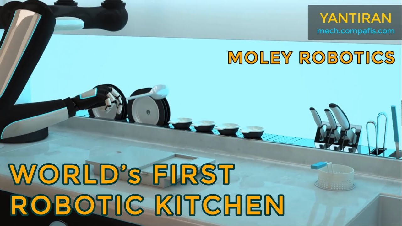 The World S First Robotic Kitchen