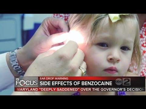 Experts warn parents about side effects of ear drops