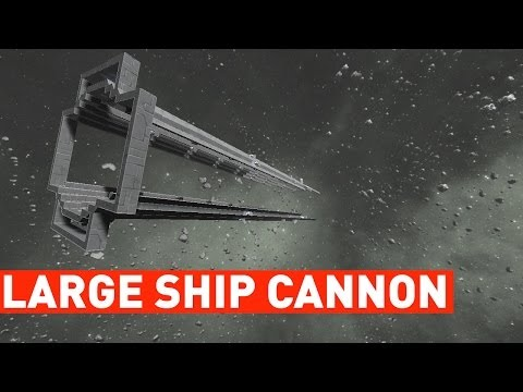 space engineers how to build a large ship