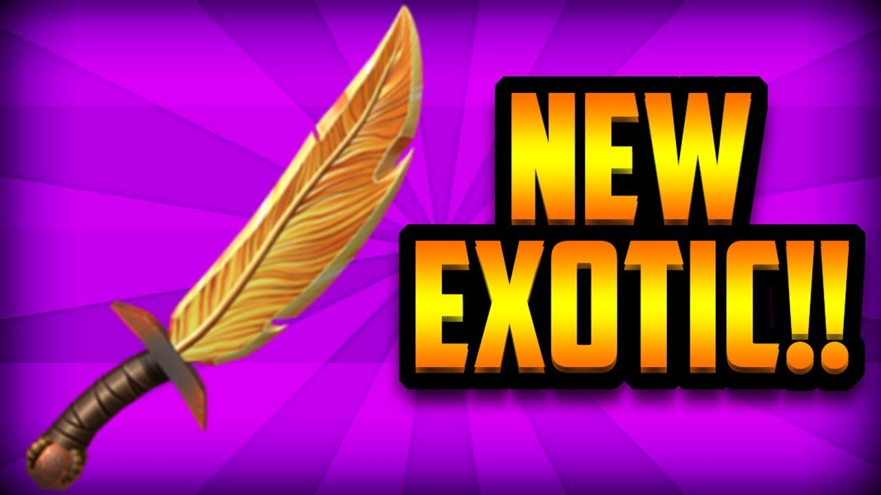 [EPIC] CLAIMING THE BRAND NEW FIRE FEATHER EXOTIC!! (ROBLOX ASSASSIN)