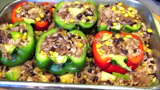 Stuffed Pepper Recipe - How To Make Stuffed Bell Peppers