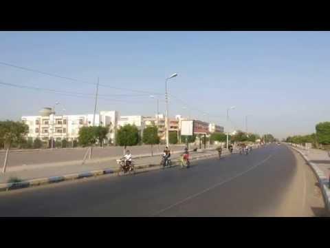 Al-Watan: The largest Marathon Cycling Ismailia June 2014