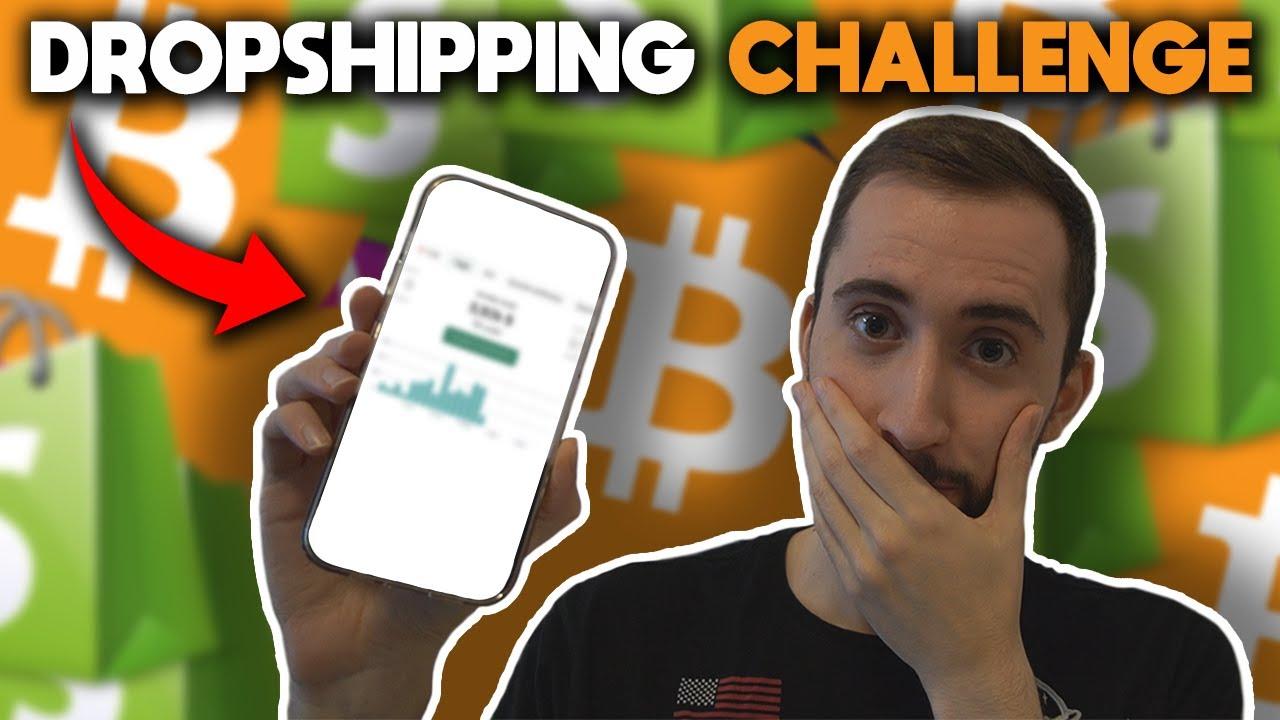 24 Ore Bitcoin Dropshipping Challenge (Rivelo Tutto!)