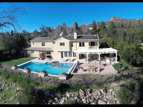 Mulholland Highway Home for Sale - Malibu Lake Area