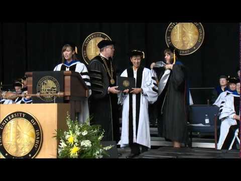 University of Idaho One Hundred Nineteenth Commencement