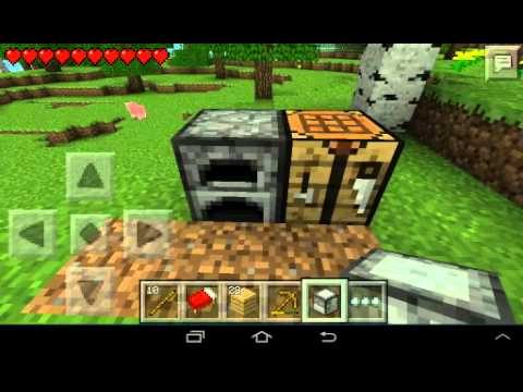 Выживание minecraft 0.8.1 часть 1