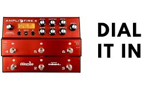 Atomic Amplifire 6 - Dialling in a Tone