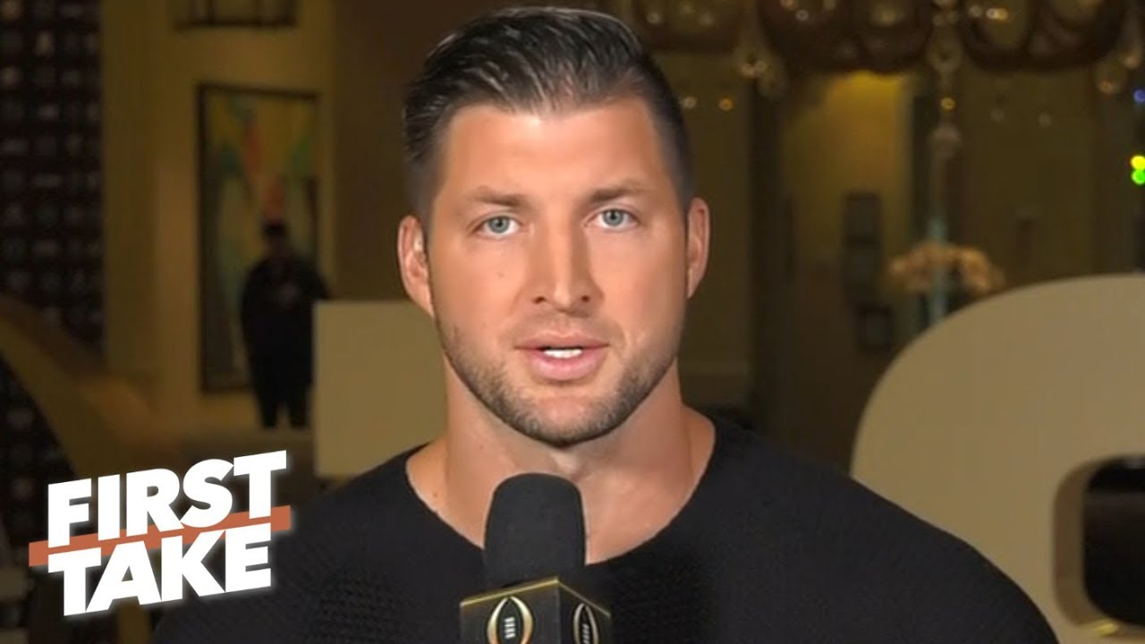 Tim Tebow's Alabama vs. Clemson National Championship predictions | First Take