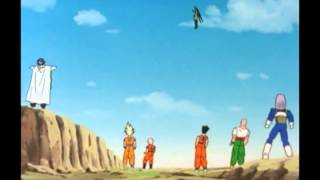 Kai - Goku gives Cell a Senzu Bean
