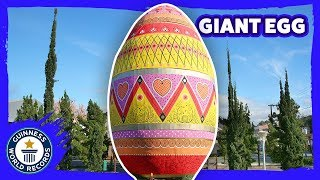 Largest decorated Easter egg - Guinness World Records