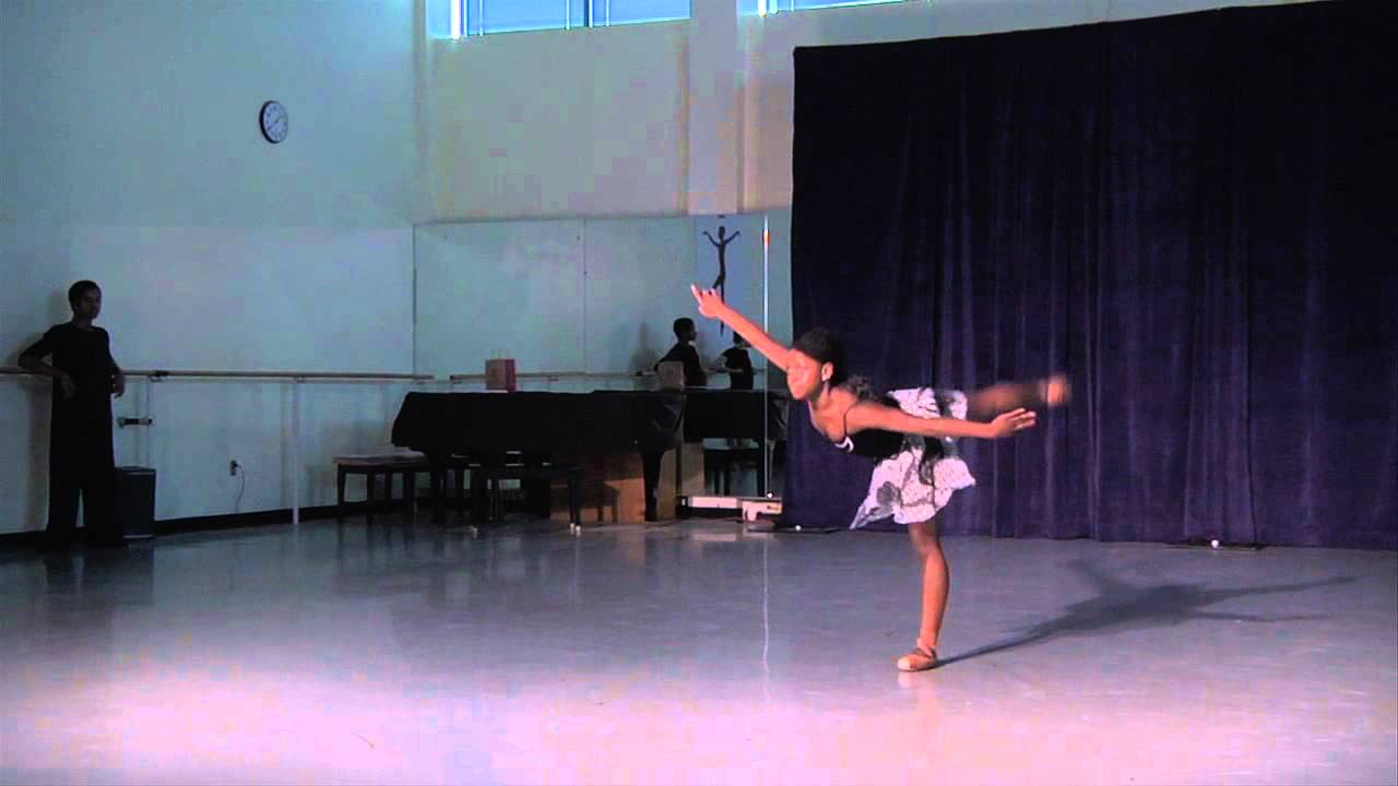 michaela deprince   featured in first position while at