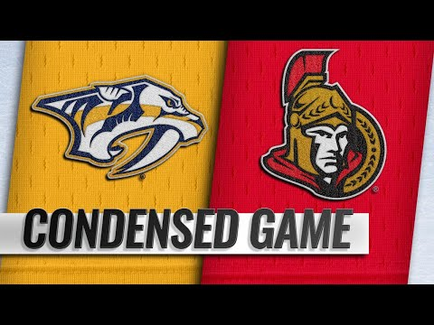 12/17/18 Condensed Game: Predators @ Senators