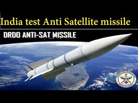 India Achives Anti Satellite Capability