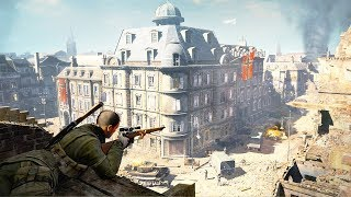 GREATEST WWII Sniper Game Ever Made | Sniper Elite V2 Remastered Gameplay