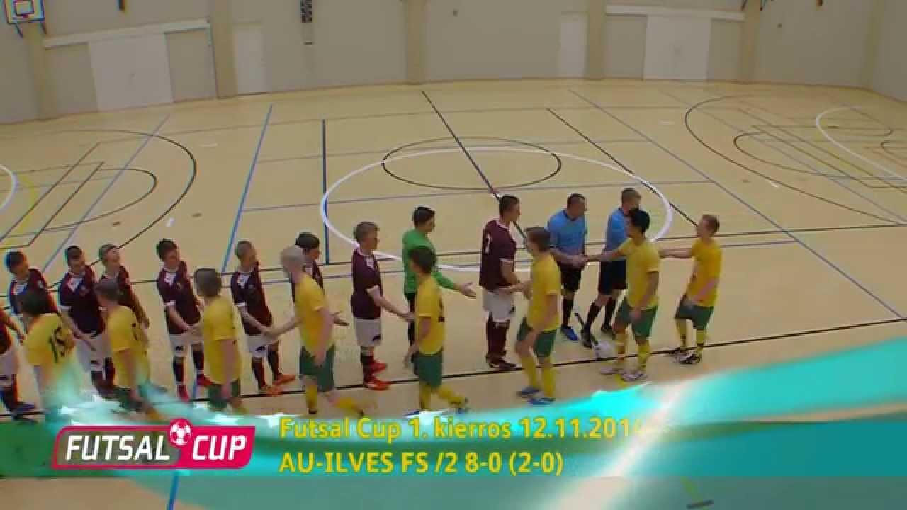 AU-Ilves FS/2 8-0 (2-0) Futsal Cup 1. kierros maalikooste 12.11.14 - YouTube