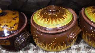 КЕРАМИЧЕСКАЯ посуда  Болгарии. Болгарская керамика!