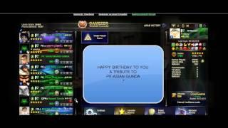 PK ASIAN GUNDA HAPPY BIRTHDAY