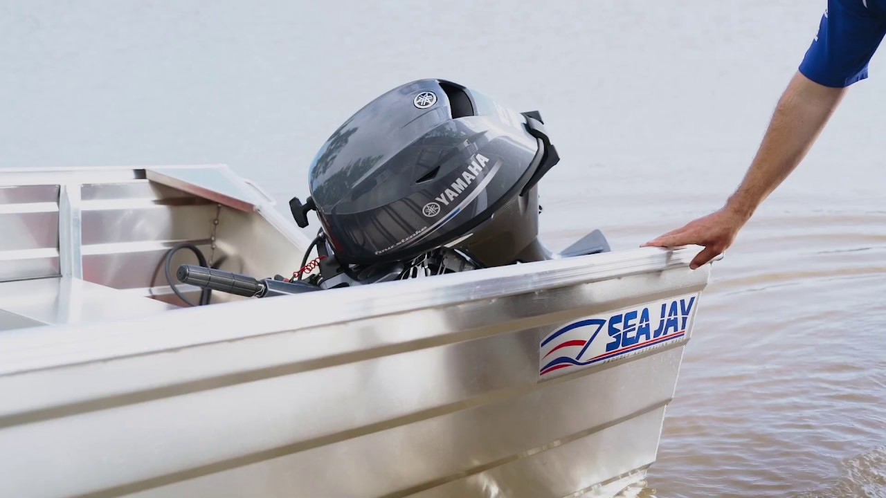 Sea Jay Nomad tinnies with Yamaha 4 Stroke Engines