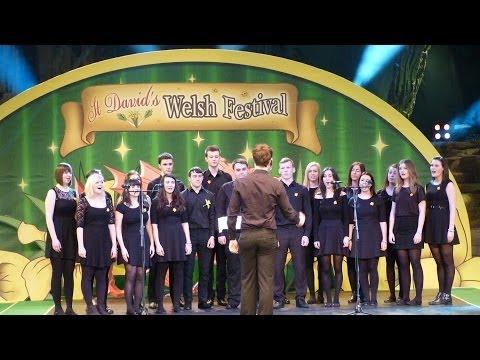 St David's Welsh Festival - Aelwyd y Waun Ddyfal choir - Disneyland Paris